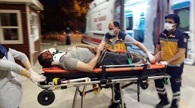 Bursa'da motosikletten düşüp 50 metre sürüklenen sürücüsü ağır yaralandı
