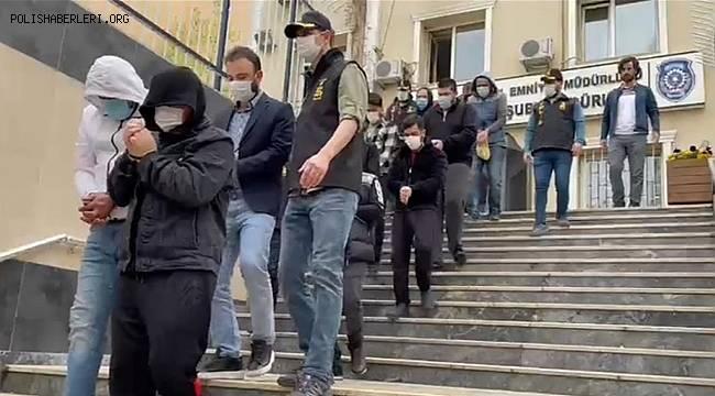 İstanbul'daki fuhuş operasyonunda gözaltına alınan 8 şüpheli tutuklandı