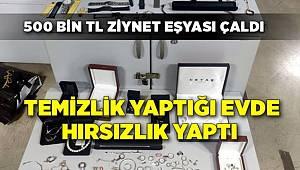 İzmir'de Temizlik görevlisi ve 2 arkadaşına hırsızlıktan gözaltı