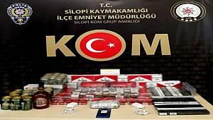 Şırnak'ta kaçakçılık operasyonunda 30 şüpheli gözaltına alındı