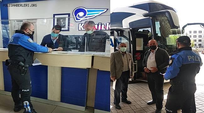Van Polisi Otogar ve Havalimanında Seyahat İzin Belgesi bilgilendirmesi yaptı