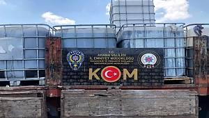 Adana'da kaçak makaron ile akaryakıt ele geçirildi