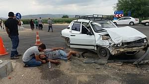 Adana Kozan'da meydana gelen trafik Kazasında 5 kişi yaralandı