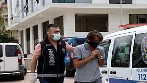 Alanya'da 2 ayrı adrese Polisten Uyuşturucu baskını 1 Şüpheli Gözaltına alındı