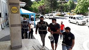Konya'daki uyuşturucu operasyonunda 2 zanlı gözaltına alındı