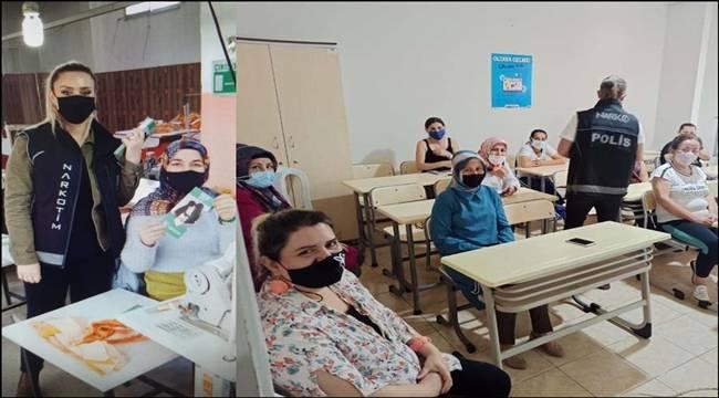 Mersin'de Uyuşturucu ile Mücadelede İlk Görev Annelerde