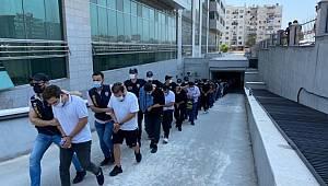 Mersin merkezli 18 ilde düzenlenen yasadışı bahis operasyonunda 35 kişi tutuklandı