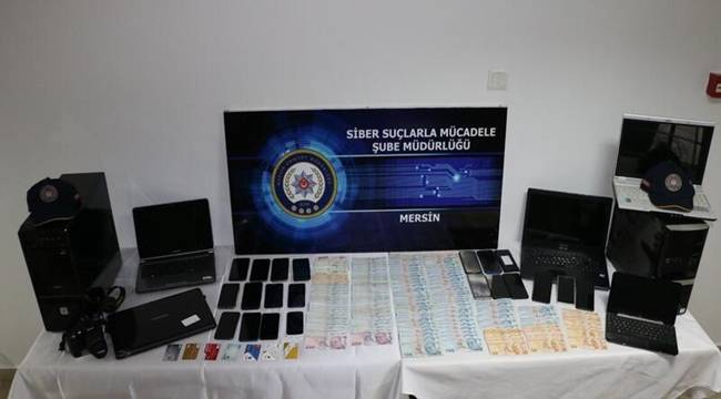 Mersin Siber Şube Ekiplerinden Yasa Dışı Bahis Operasyonu