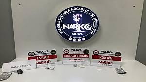 Yalova'da Polis zehir tacirlerine göz açtırmıyor