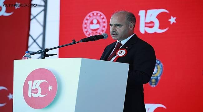 15 Temmuz Şehitlerimiz Ankara Emniyet Müdürlüğü'nde Düzenlenen Törenle Anıldı