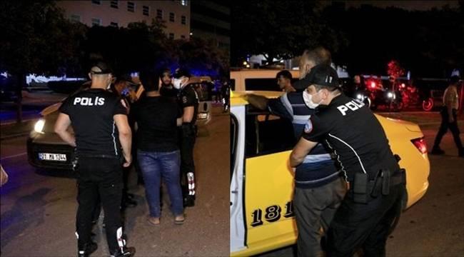 Adana'da bin 300 polisle Helikopter destekli