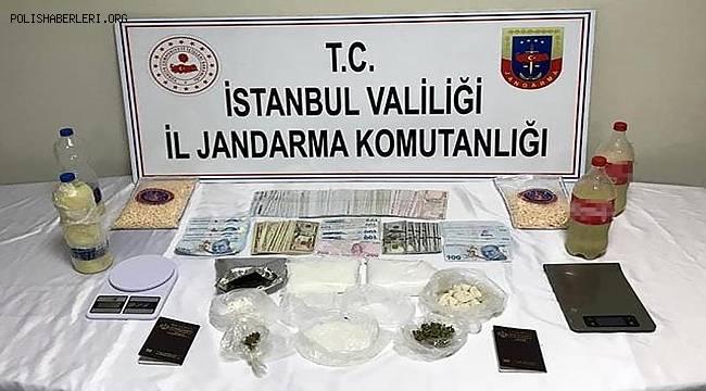 İstanbul'da jandarmanın uyuşturucu operasyonunda 1 şüpheli yakalandı
