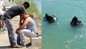Adana'da serinlemek için sulama kanalına giren genç kayboldu
