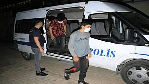 Erzincan'da 6 düzensiz göçmen yakalandı