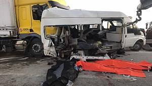 Gaziantep'teki feci trafik kazasında ölenlerin sayısı 4'e yükseldi