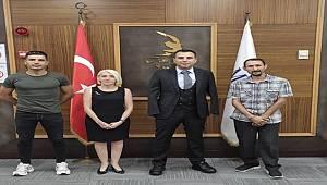 İstanbul Bölge Müdürü Kalaycıoğlu'ndan Engelli Sanatçı Akgün'e Ziyaret