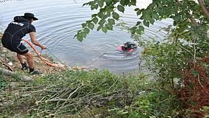 Sakarya Nehri'ne düşen gencin cansız bedenine 48 saat sonra ulaşıldı