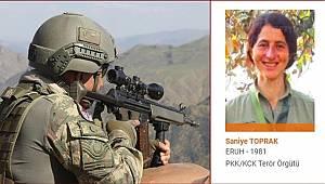 1 milyon TL ödülle aranan Diljin Mariya Dersim kod adlı PKK'lı terörist öldürüldü