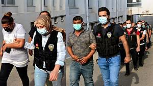 Adana'da uyuşturucu operasyonunda 9 şüpheli tutuklandı