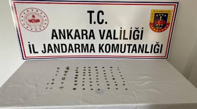 Ankara'da tarihi eser operasyonunda 2 gözaltı