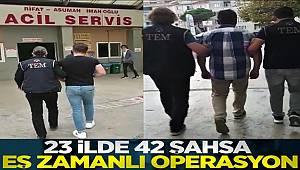 Balıkesir merkezli 23 ilde FETÖ operasyonunda 42 gözaltı kararı