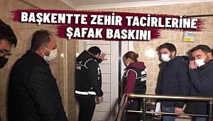 Başkentte uyuşturucu tacirlerine şafak operasyonu 290 gözaltı