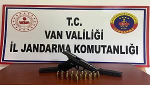 Erciş'te kasten adam öldürmeye teşebbüs olayının şüphelisi yakalandı