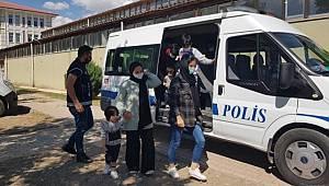 Erzincan'da 16 düzensiz göçmen yakalandı