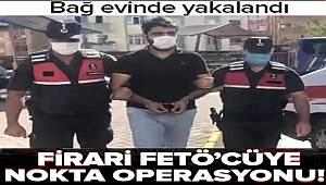 Gaziantep'te Firari FETÖ üyesine Arıl Jandarma Komutanlığından Nokta Operasyon
