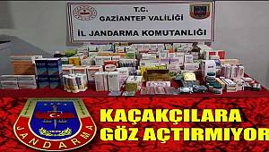 Gaziantep'te Jandarma Kaçakçılara göz açtırmıyor