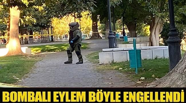 Gaziantep'teki bombalı eylem girişimi polisin dikkatiyle engellendi