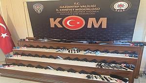 Gaziantep ve Kilis'te silah kaçakçılığı operasyonunda 24 şüpheli yakalandı