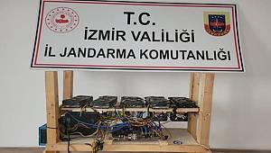 İzmir'de kripto para madenciliğinde kullanılan cihazlar ele geçirildi
