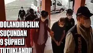 Kocaeli merkezli dolandırıcılık operasyonunda 9 şüpheli tutuklandı