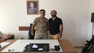 Mardin Temsilcimiz Mehmet Polat'tan Karakol Komutanı Gezer'e Ziyaret