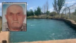 Mersin'in Tarsus ilçesinde sulama kanalına düşen yaşlı adam hayatını kaybetti