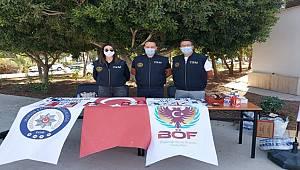 Mersin TEM polisi, üniversite öğrencilerini terör konusunda bilgilendirdi