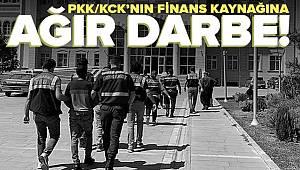PKK/KCK hükümlülerine finansal destek sağladıkları iddiasıyla 16 şüpheli gözaltına alındı