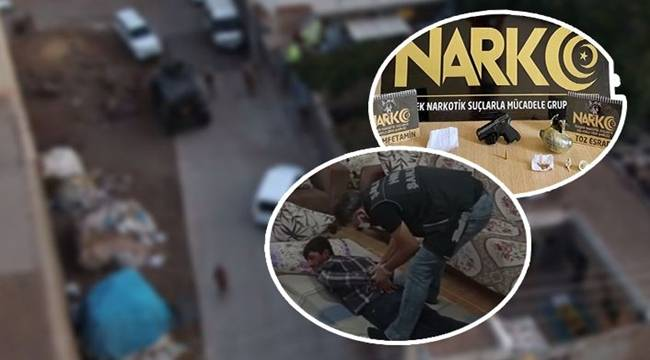 Şanlıurfa'da uyuşturucu operasyonunda 25 gözaltı