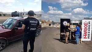 Tunceli Narkotik ekipleri Uyuma Projesini tanıttı
