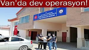 Van'da Göçmen Kaçakçılığı Operasyonunda 22 Organizatör Yakalandı