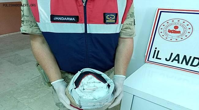 Van Erciş'te Jandarmadan uyuşturucu operasyonu