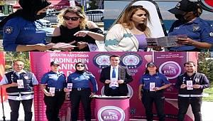 Van polisi kadınlara KADES uygulamasını tanıttı