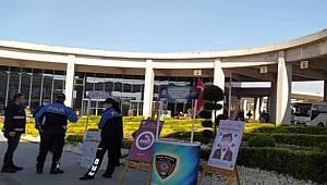 Düzce'de toplum destekli polislerden öğrencilere bilgilendirme