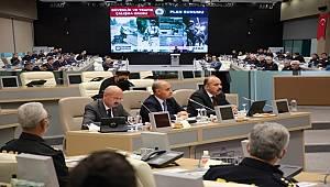 """Emniyet Genel Müdürü Aktaş İstanbul'da """"Trafik ve Güvenlik Çalışması"""" Toplantısına Katıldı"""