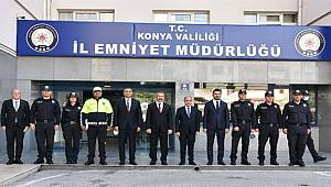 Emniyet Genel Müdürü Mehmet Aktaş Konya'da