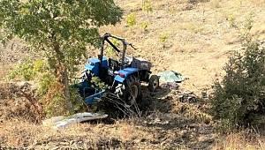 İzmir'de bir adam kullandığı traktörün altında kalarak hayatını kaybetti