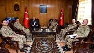 Jandarma Genel Komutanı Org. Çetin'den Kahramanmaraş Valisi Coşkun'a ziyaret