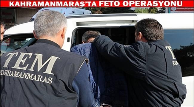 Kahramanmaraş'ta aranan 5 FETÖ/PDY üyesi yakalandı