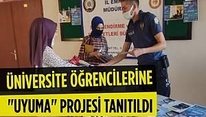 Kahramanmaraş'ta üniversite öğrencilerine